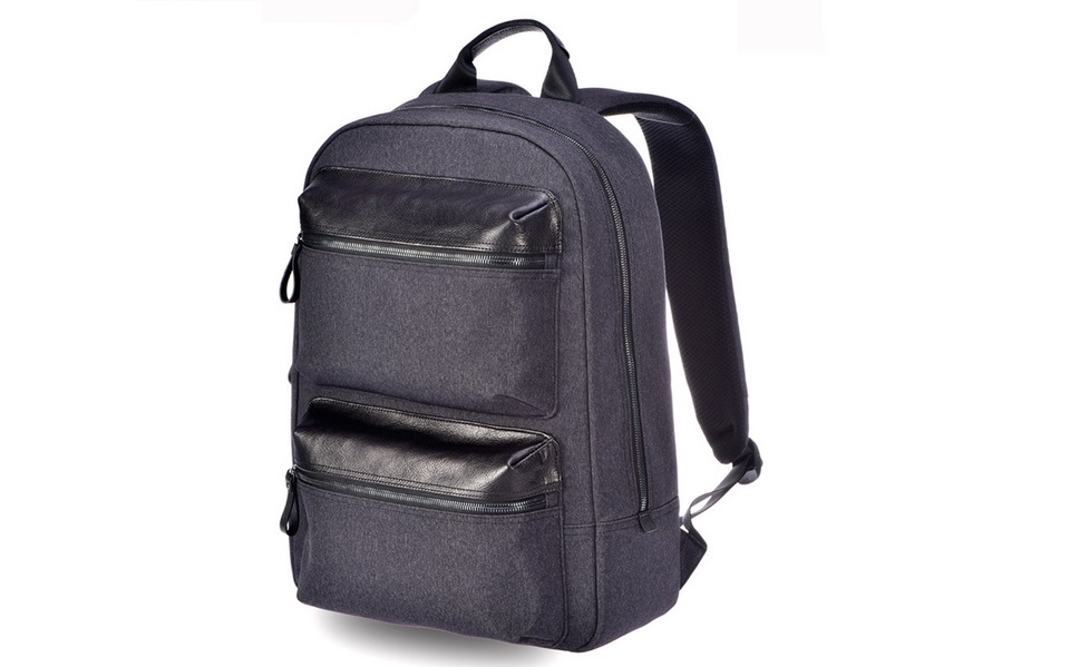 Рюкзак RunMi 90 Points Business Multi-function Backpack вид сбоку