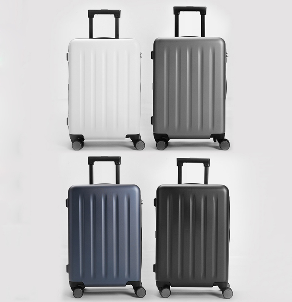 "Чемодан RunMi 90 Points suitcase Maсaron Green 20"" в 4-х цветах"