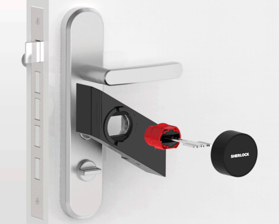 SHERLOCK M1 Smart Lock конструкция