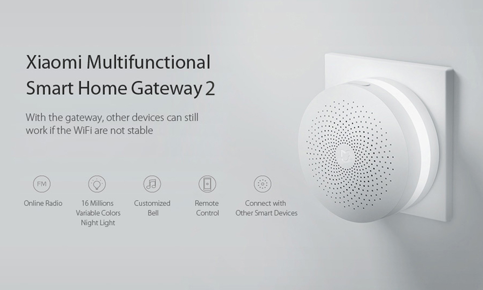 Mi Smart Home Security Kit Multifunctional Gateway