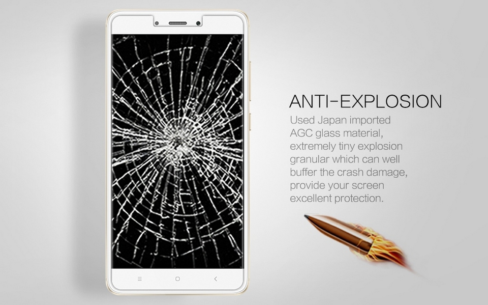XIAOMI RedMi Note 4X H+PRO Anti-Explosion Glass