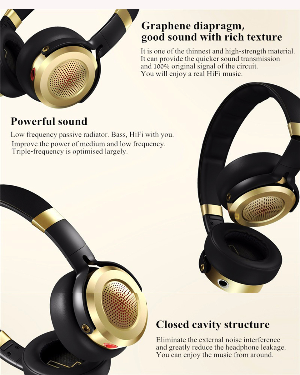 Наушники Xiaomi Mi Headphones New Black/Gold ZBW4370TY демпферная система