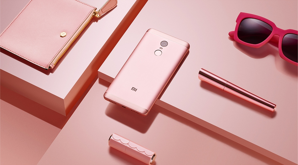 Xiaomi Redmi Note 4х pink cherry powder
