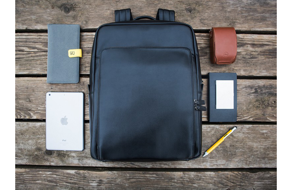 Рюкзак  Xiaomi 90 Points Business Backpack Black комфорт
