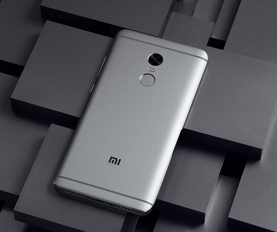 Смартфон Xiaomi Redmi Note 4 Black 3/64 Gb тыльная часть