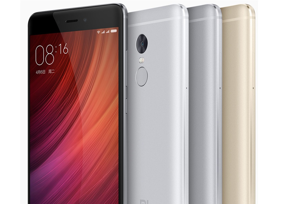 Смартфон Xiaomi Redmi Note 4 Black 3/64 Gb экран и боковые грани