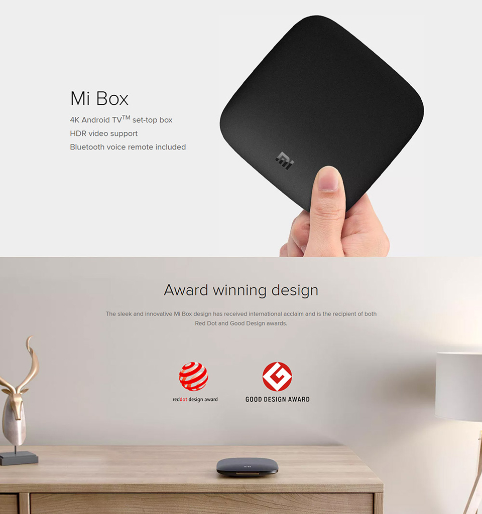 TV-Приставка Xiaomi Mi box 3 2/8 Gb International Edition v2 дизайн
