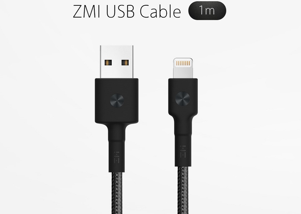 Кабель ZMi AL803 Apple Kevlar Data cable/Micro USB Kevlar крупным планом