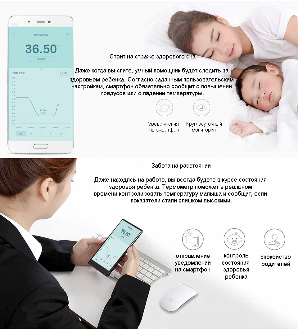 Термометр ZenMeasure Smart Thermometer