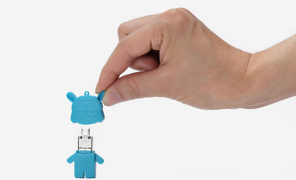 Flash USB/Micro USB 16 GB Storage Mi Bunny Blue надежный