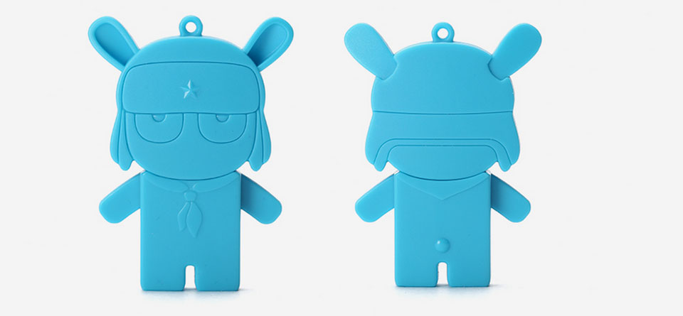 Flash USB/Micro USB 16 GB Storage Mi Bunny Blue веселый