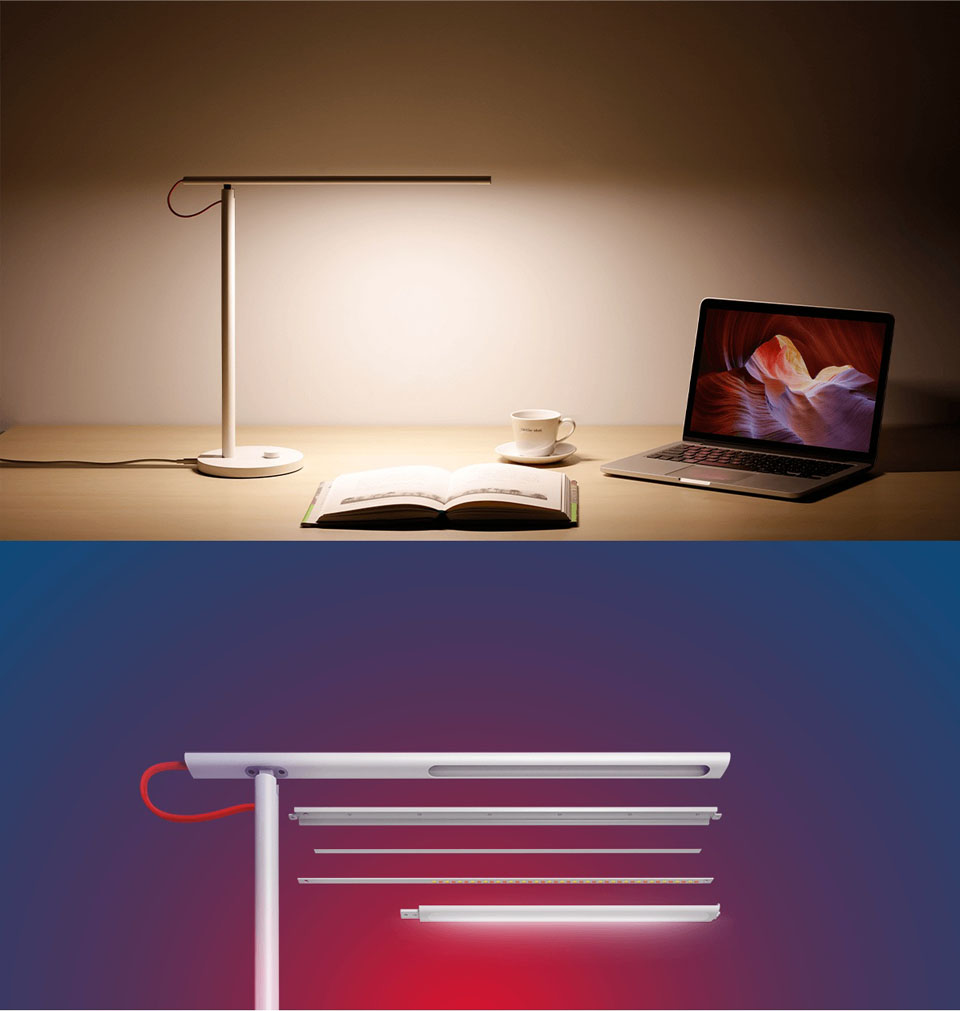 Mijia Table LED light режим чтения