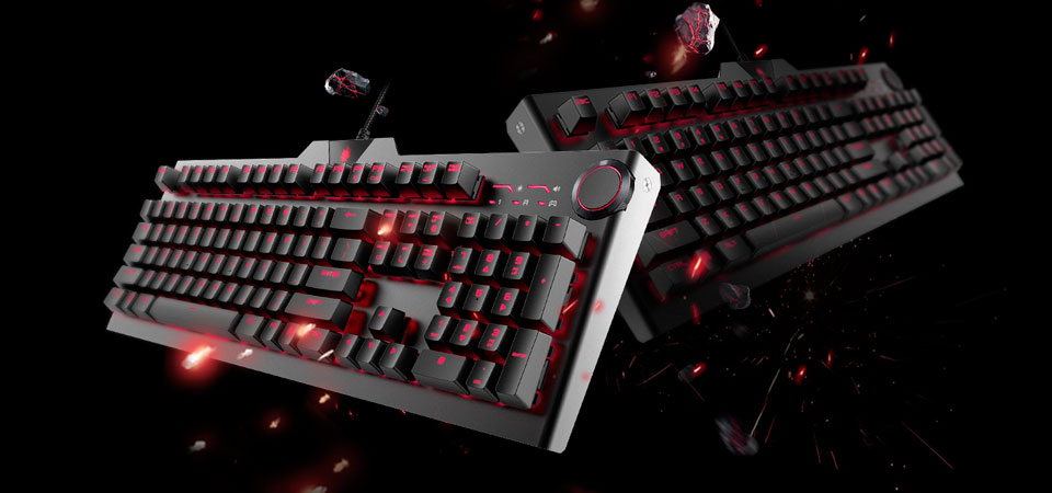 BLASOUL Professional Mechanical Gaming Keyboard USB Black Y520 игровая клавиатура