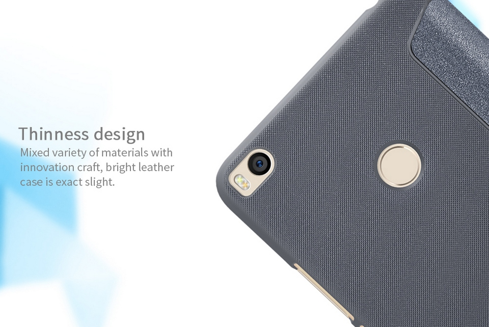 mi max2 nillkin sparkle leather