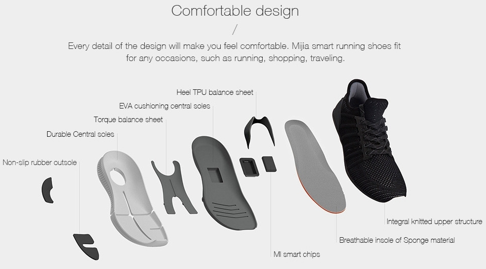 mijia smart shoes foot