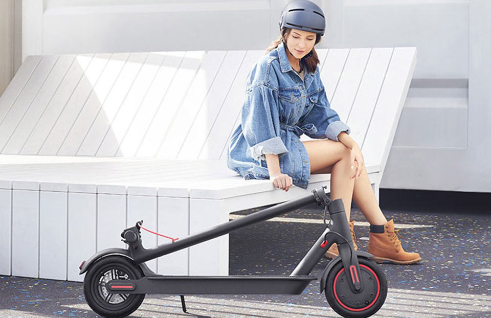 MiJia Electric Scooter Pro крутой скутер
