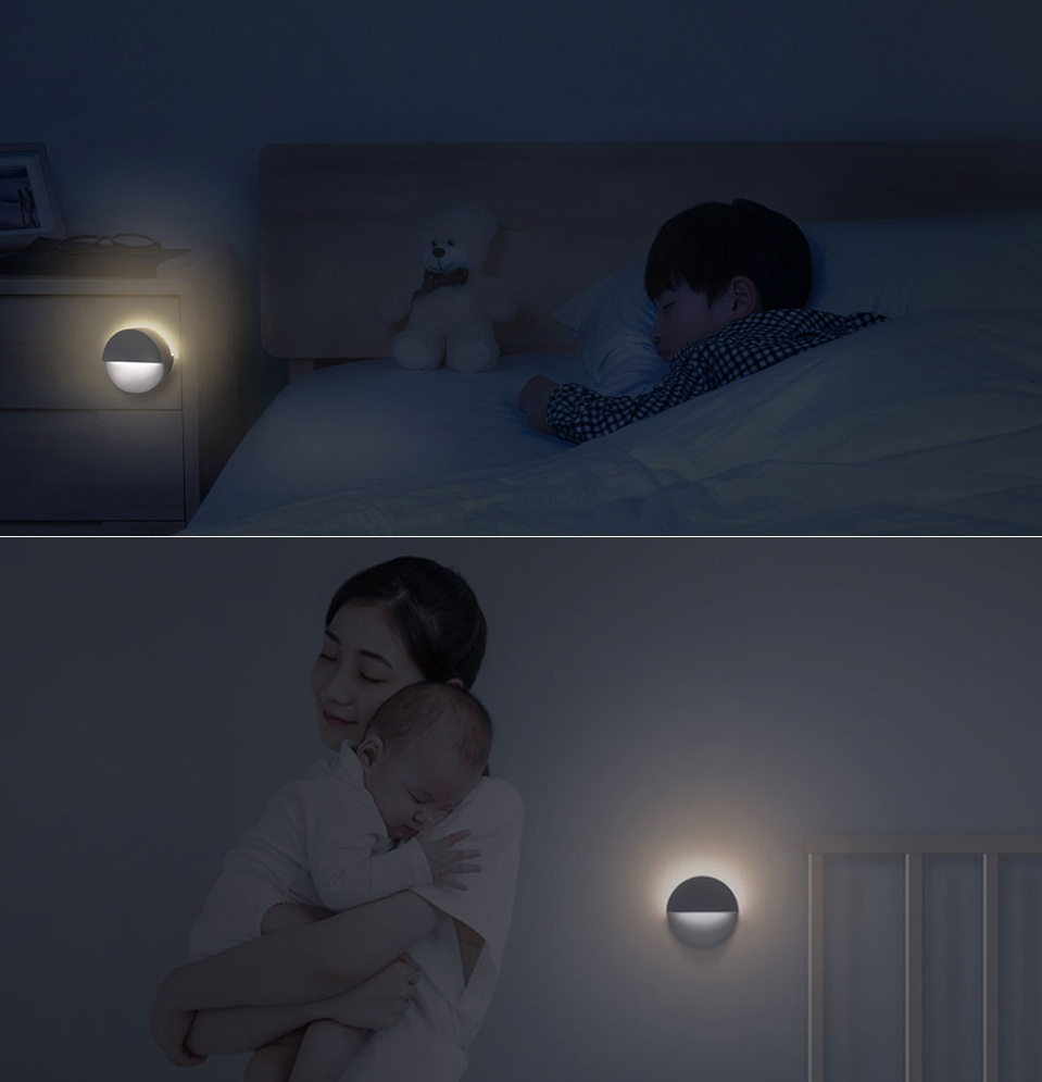 Ночная лампа Mijia Philips Bluetooth Night Light White в детской