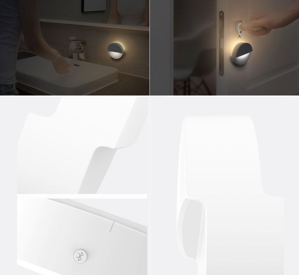 Ночная лампа Mijia Philips Bluetooth Night Light White элементы конструкции