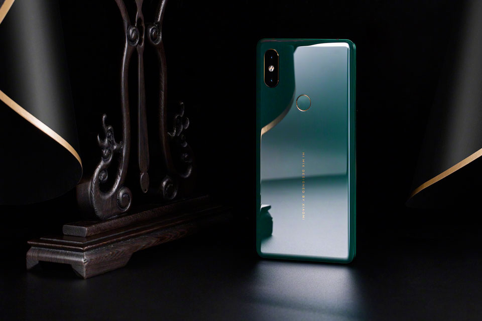 Mi Mix 2S Jade Art Edition Emerald Green новый цвет