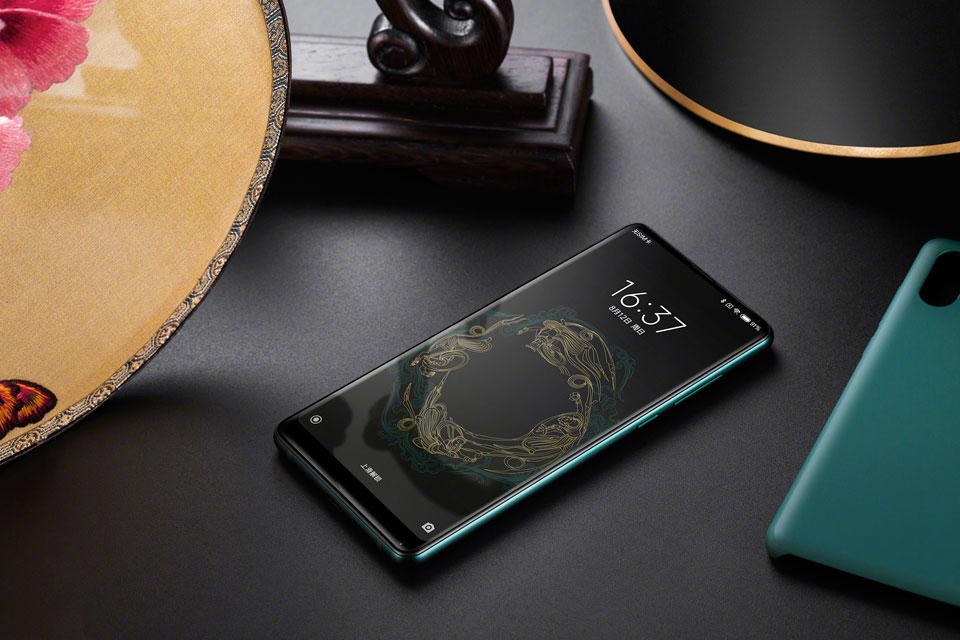 Mi Mix 2S Jade Art Edition Emerald Green топовый смартфон