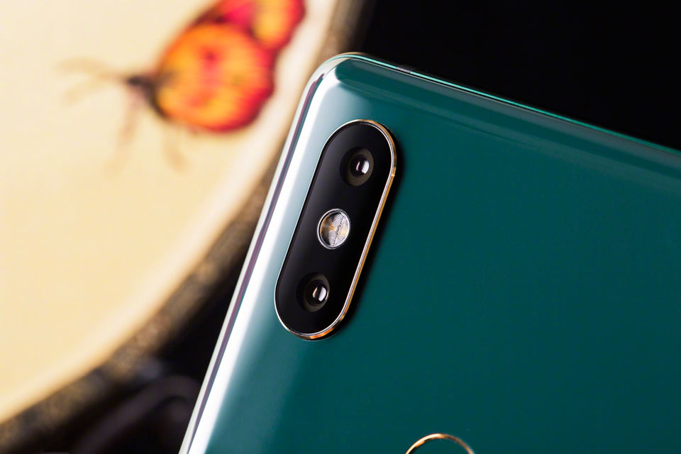 Mi Mix 2S Jade Art Edition Emerald Green двойная камера