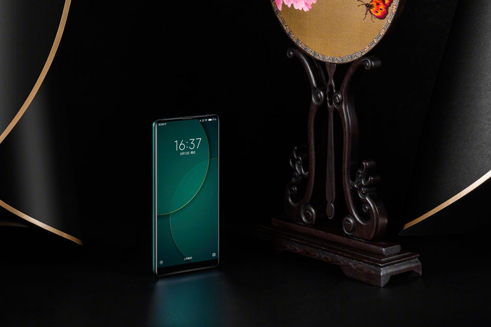 Mi Mix 2S Jade Art Edition Emerald Green стильный смартфон