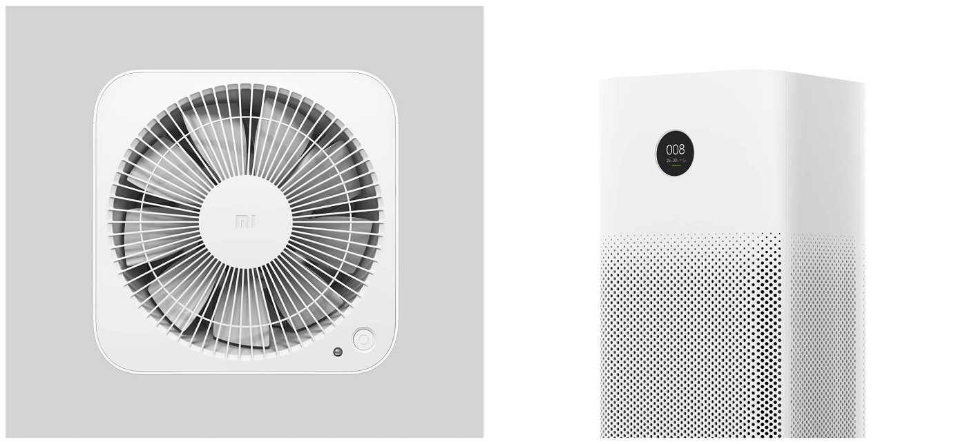 SmartMi Air Purifier 2S конструкция