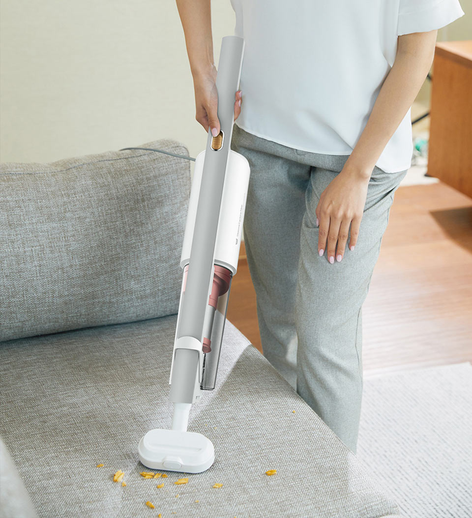 DEERMA Suction Vacuum Cleaner практичный