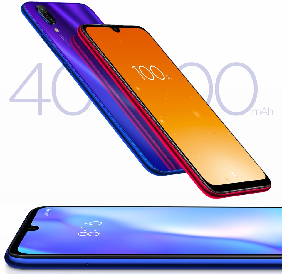 Смартфон Xiaomi Redmi Note 7 аккумулятор