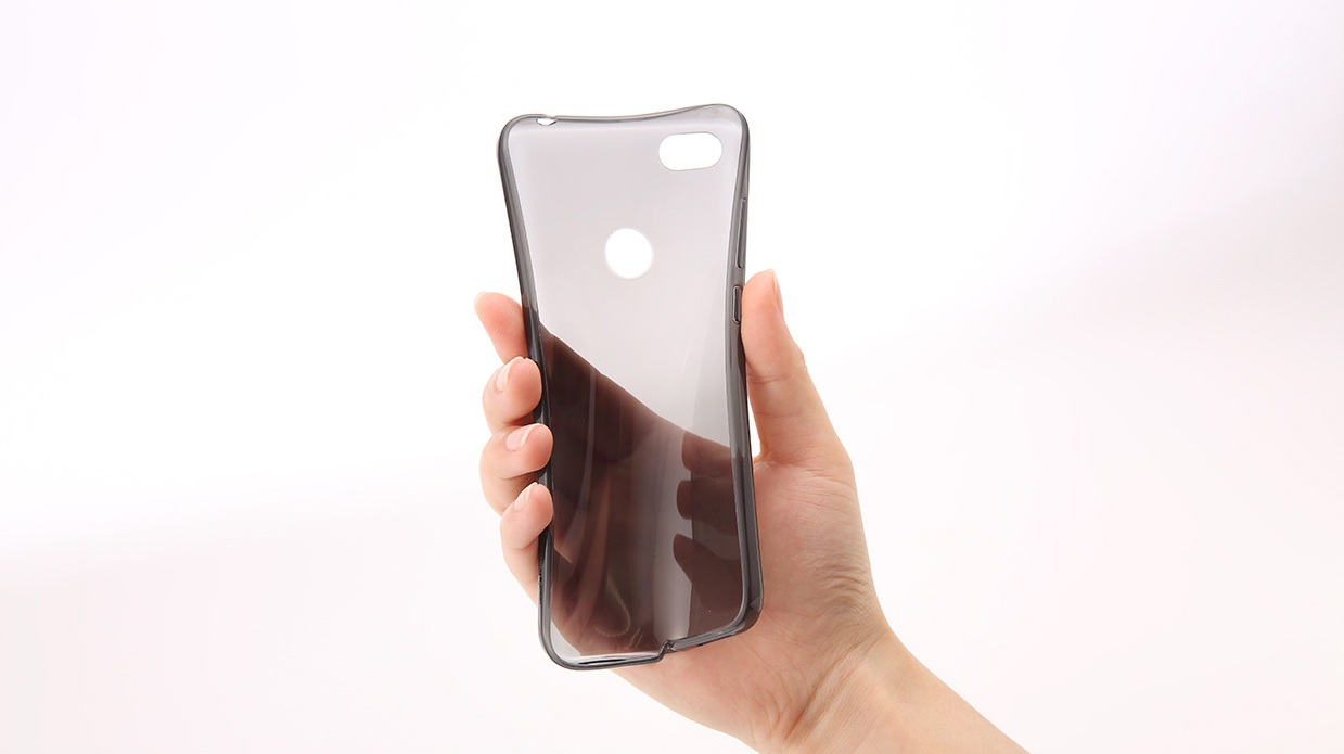 Soft Case для смартфонов Xiaomi RedMi Note 5A Clear ORIGINAL 1173100070 материал TPU