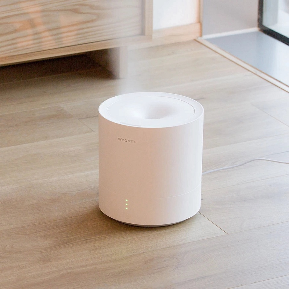 Увлажнитель SmartMi Ultrasonic Humidifier White JSQ01ZM на полу
