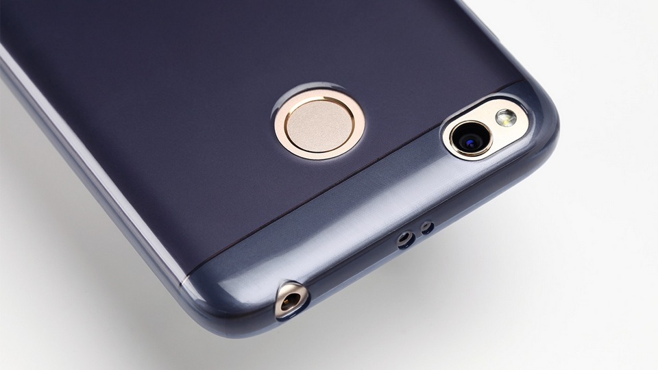 tpu case transparent redmi 4x