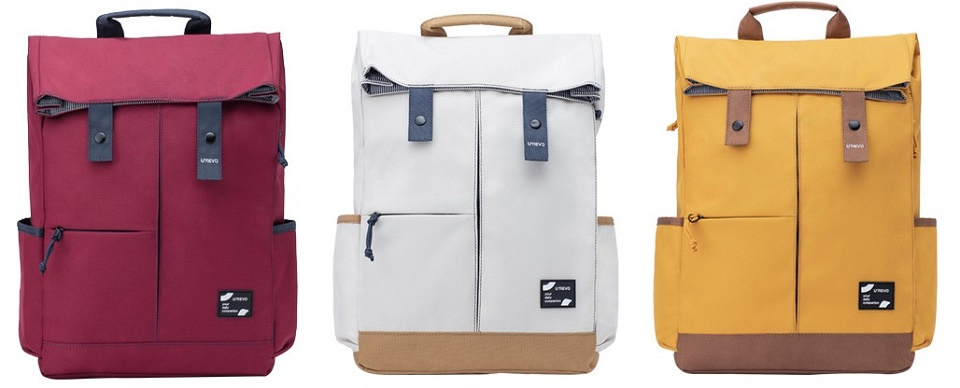 Рюкзак U'REVO College Leisure Backpack три цвета