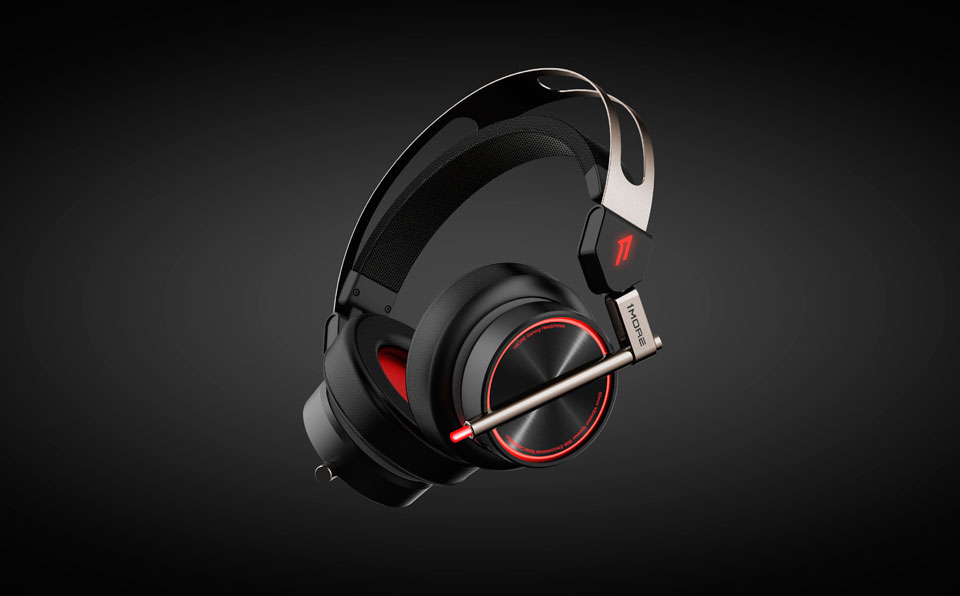 1MORE Spearhead VRX Gaming Headphones наушники