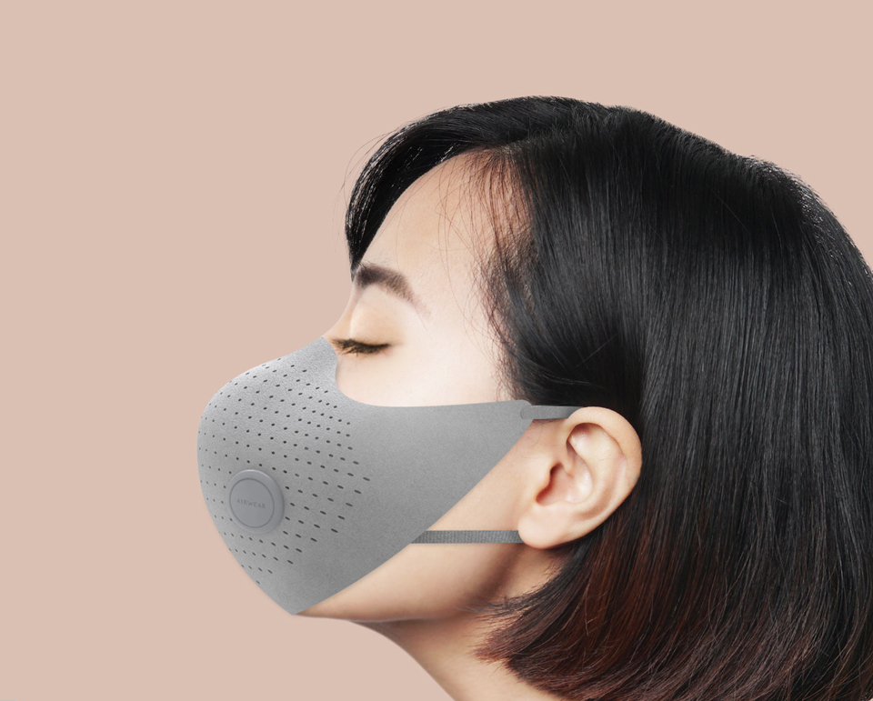 Xiaomi MiJia AirWear Anti-Fog Haze Mask фильтр