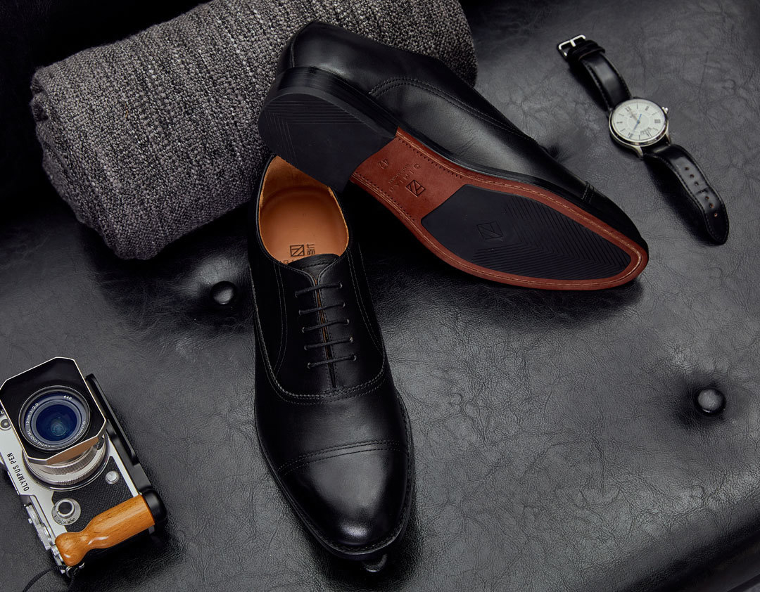 xiaomi-Qimian-Oxford-Shoes-Black