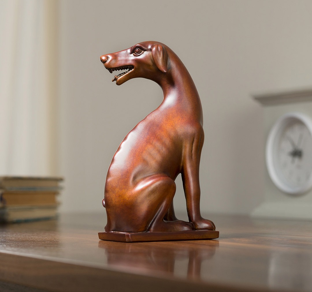 xiaomi-TONGSHIFU-Dog-Statue-Brown
