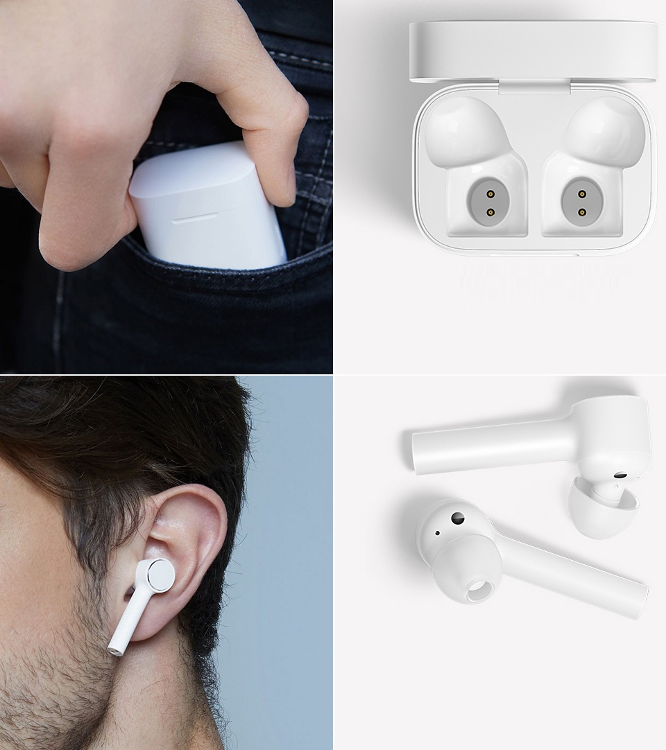 Наушники Xiaomi Air Mi True Wireless Earphones White мобильность