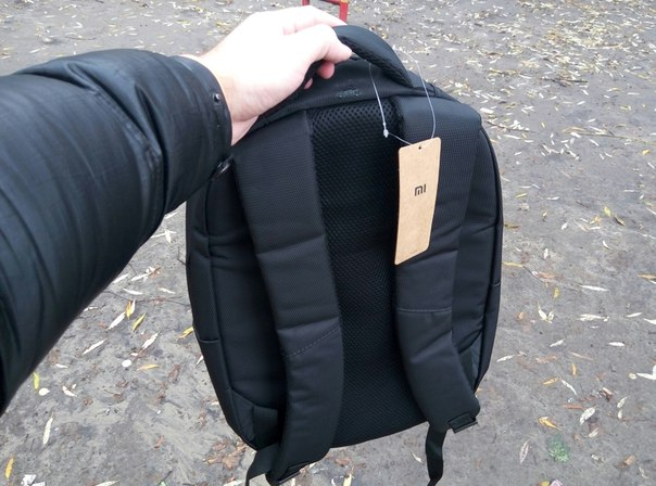 Рюкзак Xiaomi Business Bag вид сзади