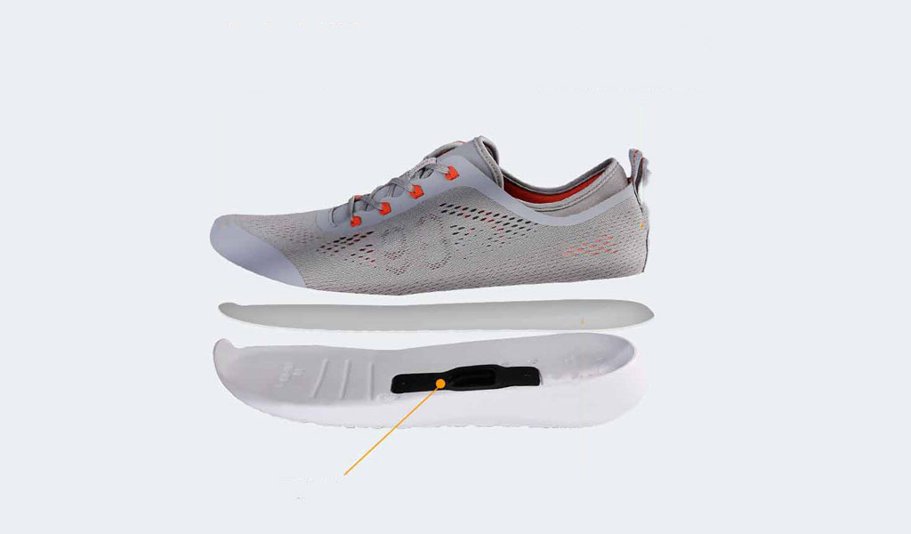 Xiaomi 90 points Smart shoes конструкция