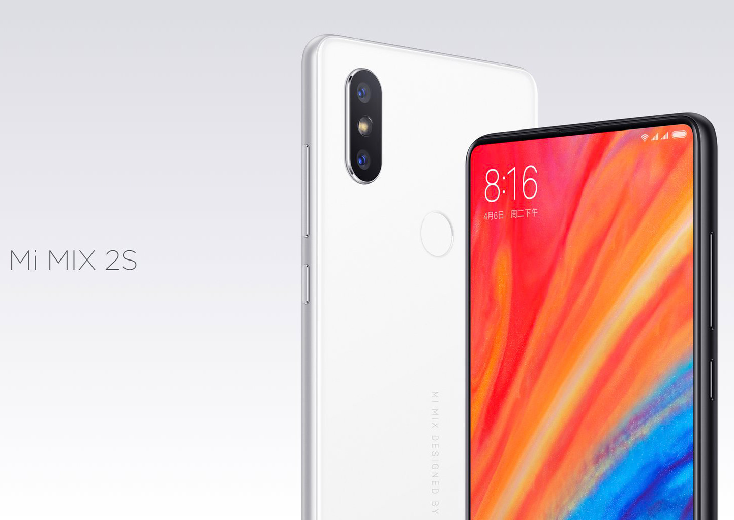 Смартфон Xiaomi Mi Mix 2S 8/256GB Black
