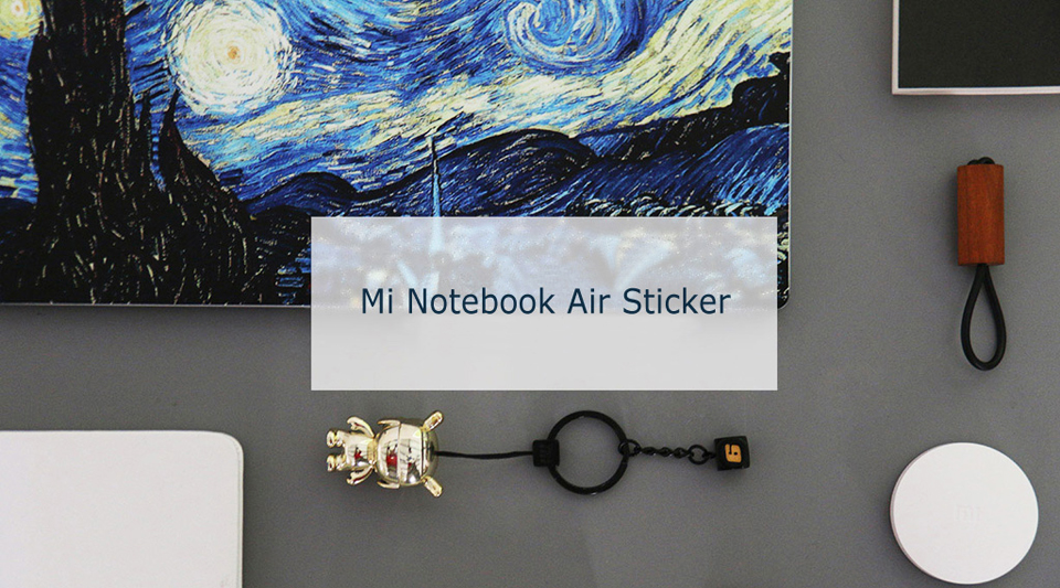 Наклейка Xiaomi Mi Notebook Air Sticker 12.5'' Starry Night by Van Gogh