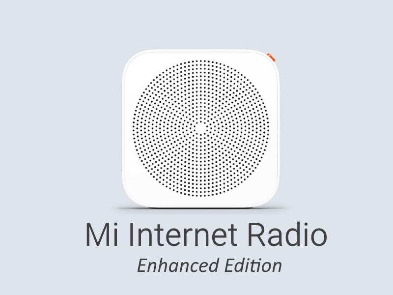 Xiaomi Mi Internet Radio Enhanced Edition 2017
