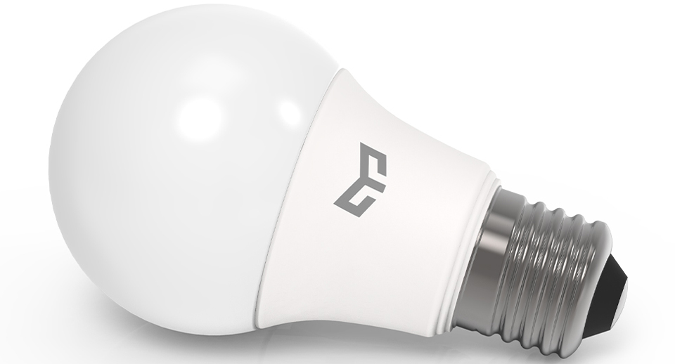 Лампа Yeelight LED bulb 7W вид сбоку