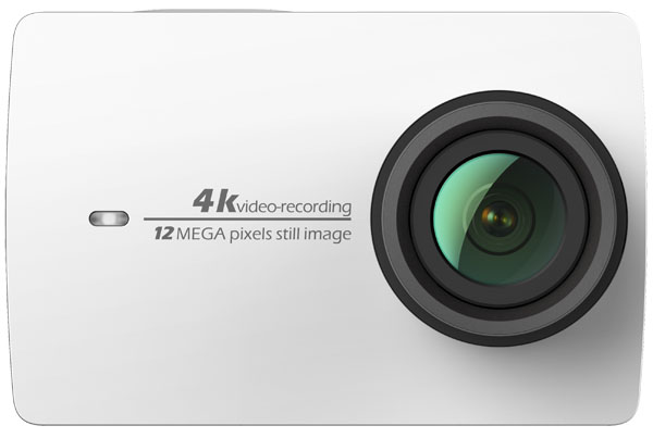 YI 4K Pearl White International Edition стильная камера